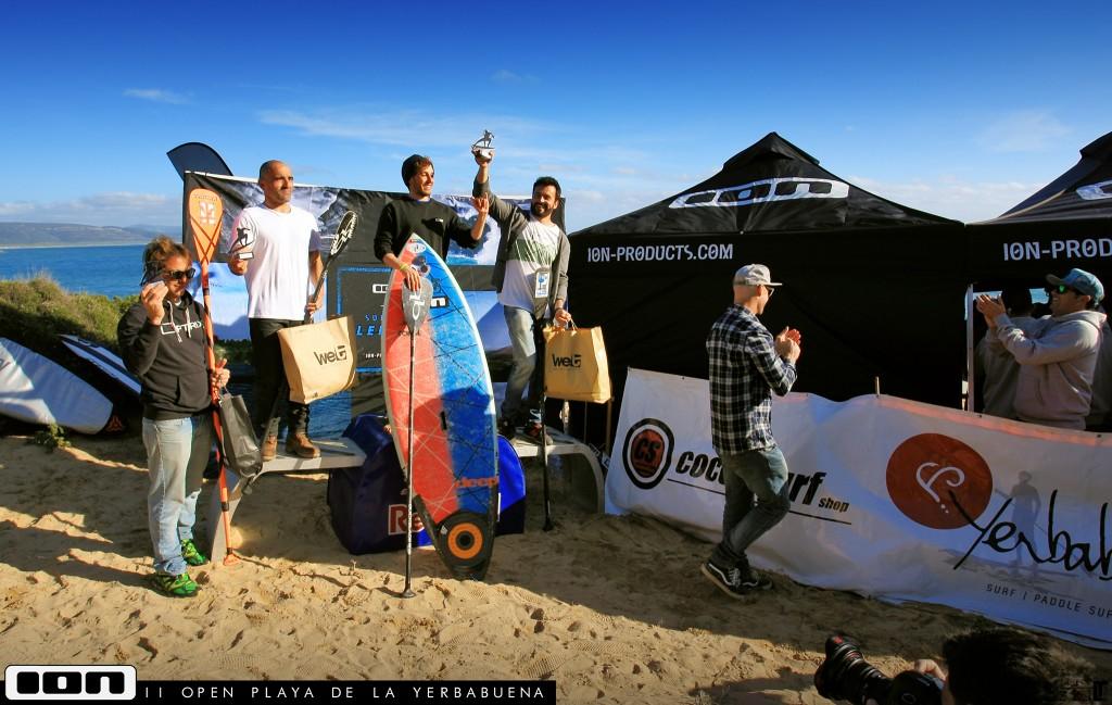 Resultado SUP en el II Open Surf y SUP La Yerbabuena - ION