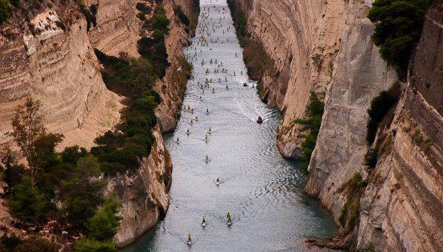 Foto del Corinth Canal SUP Crossing 2018