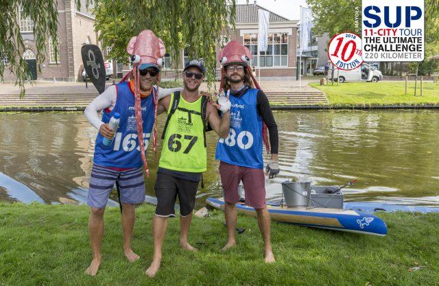 Plastic Tides 1ºer día del SUP11 City Tour 2018