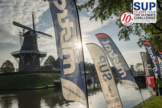 Mistral en el último día del SUP11 City Tour 2018