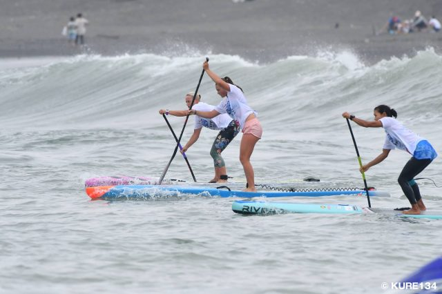 Salida chicas SUP Japan CUP