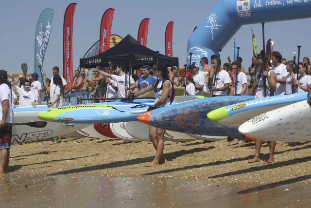 Salida  III Discover Huelva SUP Festival