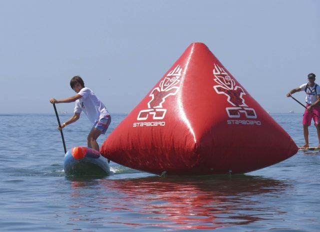 Gran nivel de los más jóvenes en el  III Discover Huelva SUP Festival