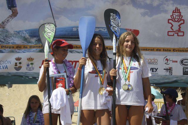Pódium 4  III Discover Huelva SUP Festival