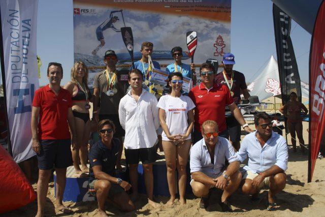 Pódium 6  III Discover Huelva SUP Festival