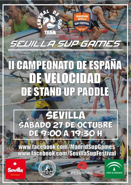 Cartel Campeonato de España de Velocidad
