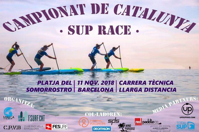 Cartel . Campeonato de Cataluña de SUP Race
