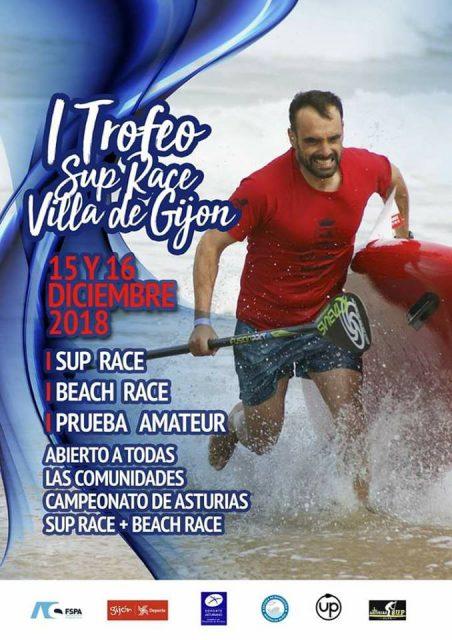 Cartel SUP Race Villa de Gijón