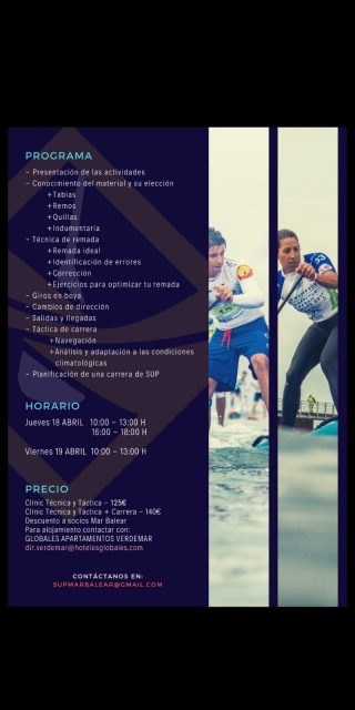 Cartel clínics 2 Port Adriano SUP Race