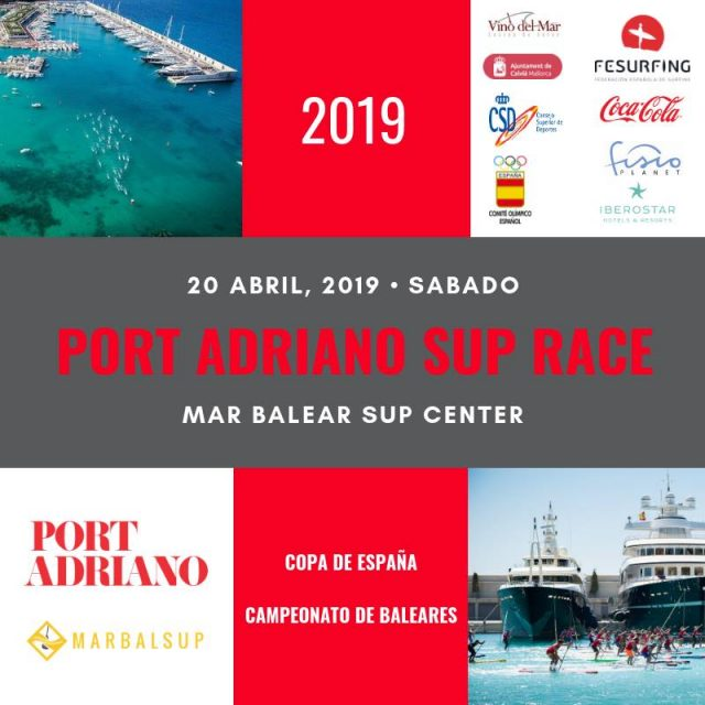 Cartel Port Adriano SUP Race