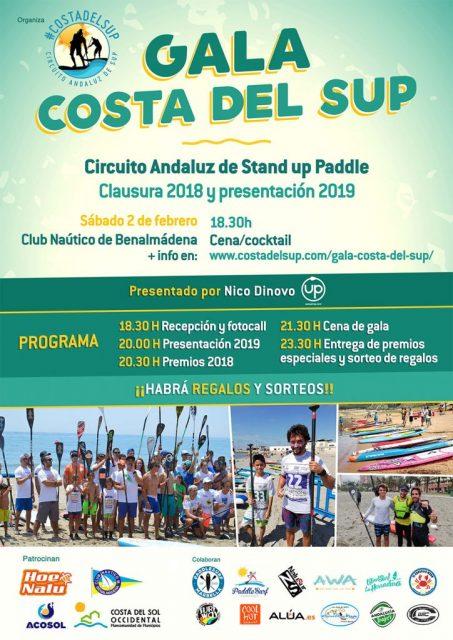 Cartel Gala Costa del SUP 2018/2019