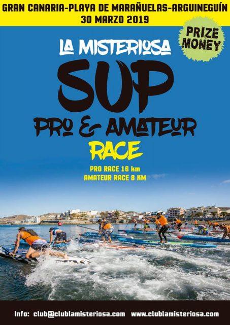 Cartel La Misteriosa SUP Race