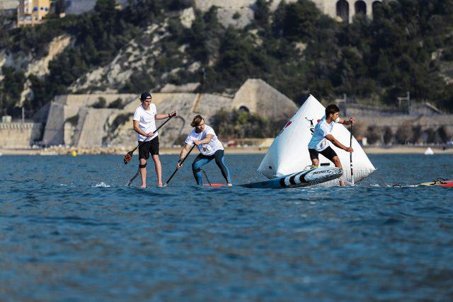 Boyas en el Azur Paddle Days