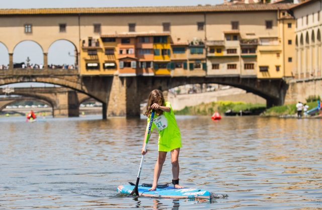 SUP Kids. Florence Paddle Games 2019
