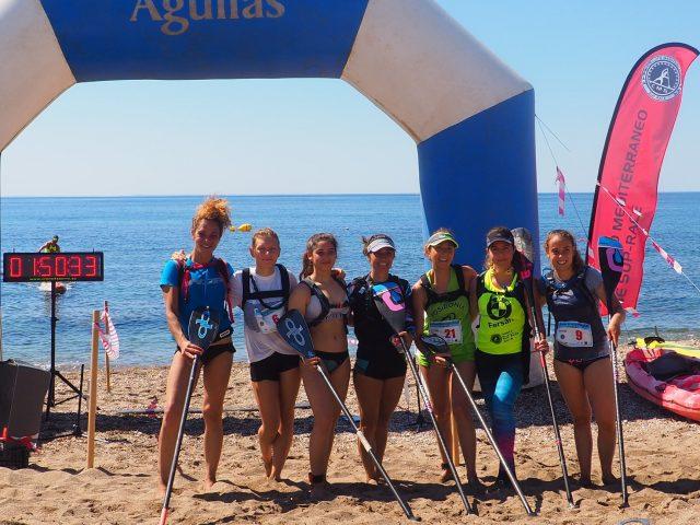 Categoría femenina 1ºer Gran Premio SUP Meridiano Águilas