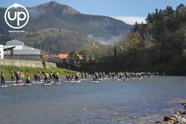Salida SPS Sella SUP River Race