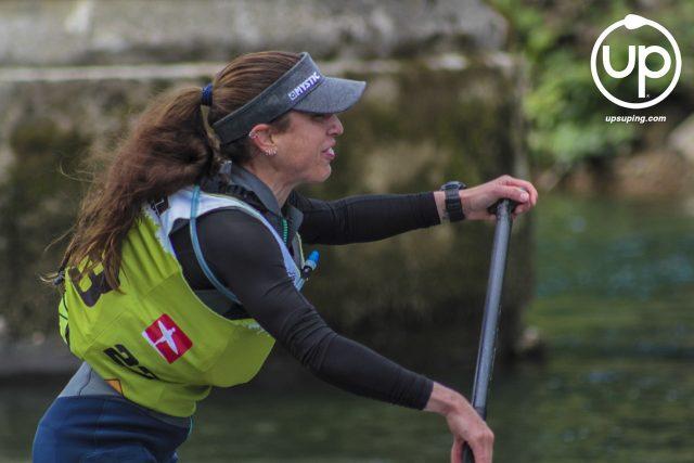 Ana Baizan en el SPS Sella SUP River Race