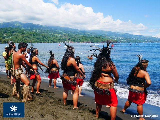 Baile regional Air Tahiti Nui Royal Paddle Race