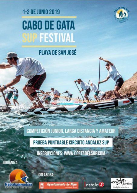 Cartel Cabo de Gata SUP Festival