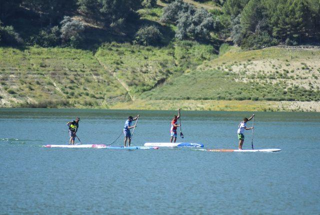 Competición Elite Iznájar SUP Lago de Andalucía
