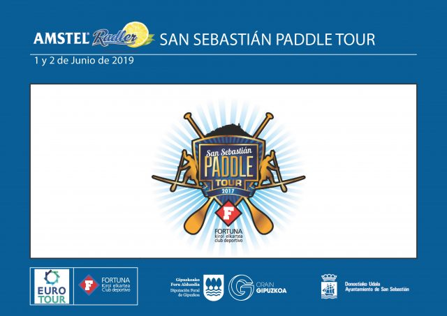 Cartel San Sebastián Paddle Tour