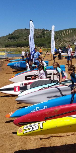 Salida peques Iznájar SUP Lago de Andalucía