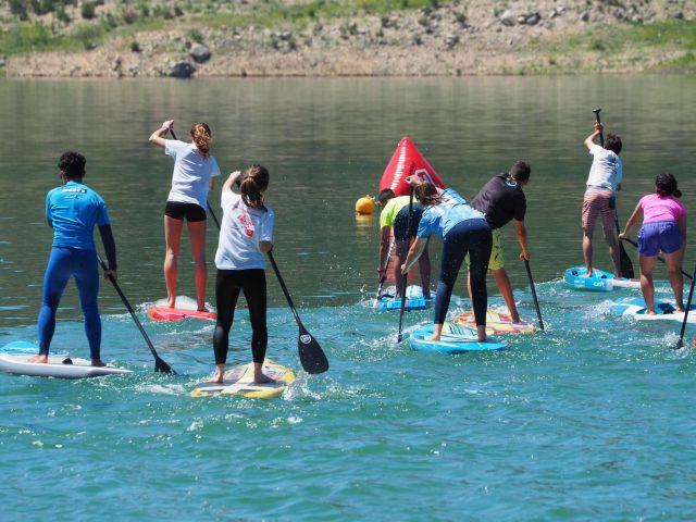 Categoría juvenil del Iznájar SUP Lago de Andalucía