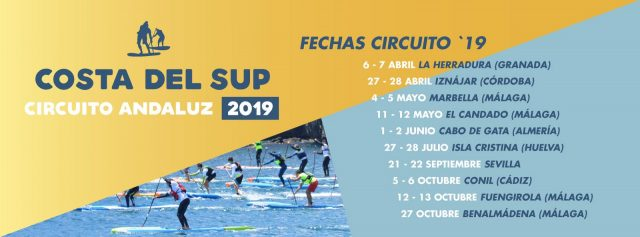 Calendario circuito Costa del SUP 2019