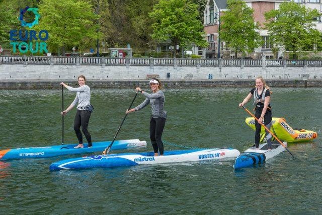 Chicas del Namur SUP Race