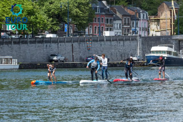 Cabeza de acrrera. Namur SUP Race