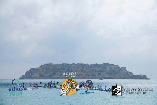 Competidores del Agios Nikolaos on SUP 2019