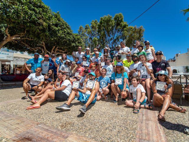 Competidores del Cabo del Gata SUP Festival
