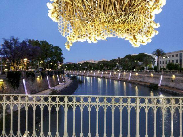Anochecer en el río Segura. Murcia SUP Festival