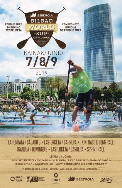 POSTER Bilbao World SUP Challenge