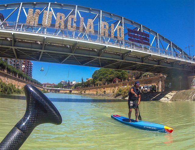 Paseando por el río Segura. Murcia SUP Festival