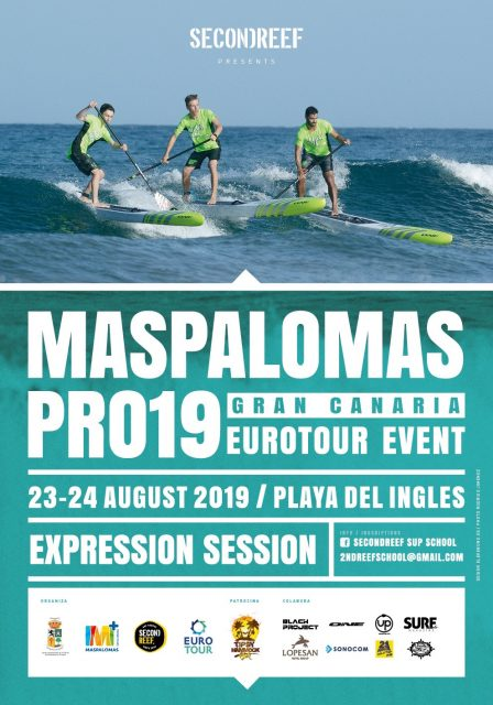 Cartel Maspalomas Pro 2019 Eurotour