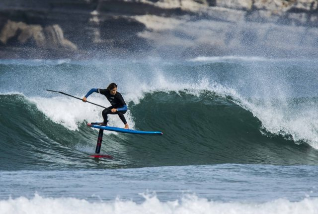 Iballa Ruano. Somo SUP Surf Championship
