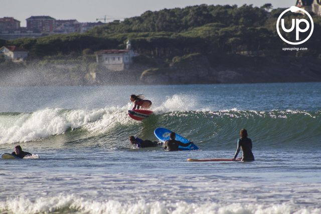Alazne Aurrekoetxea. Somo SUP Surf Championship