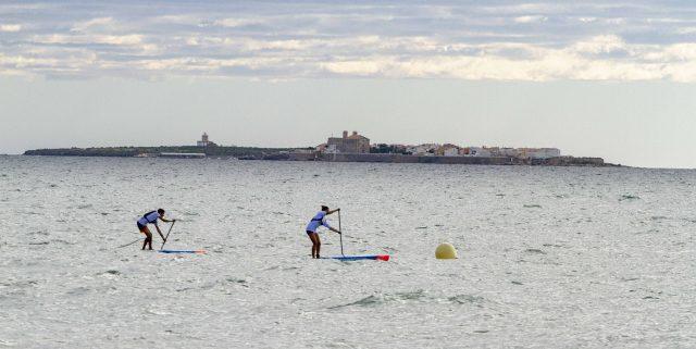 La Isla de Tabarca en imagen durante la Gran Carrera del Mediterráneo SUP Race