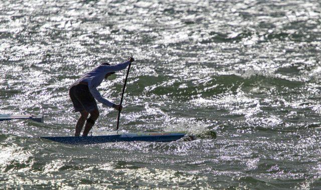 El viento fue el protagonista en la Gran Carrera del Mediterráneo SUP Race