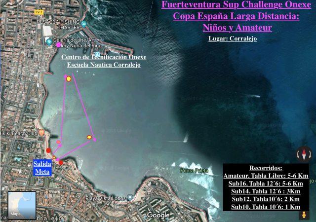 Larga Distancia niños Fuerteventura SUP Challenge Waves&Race 2019