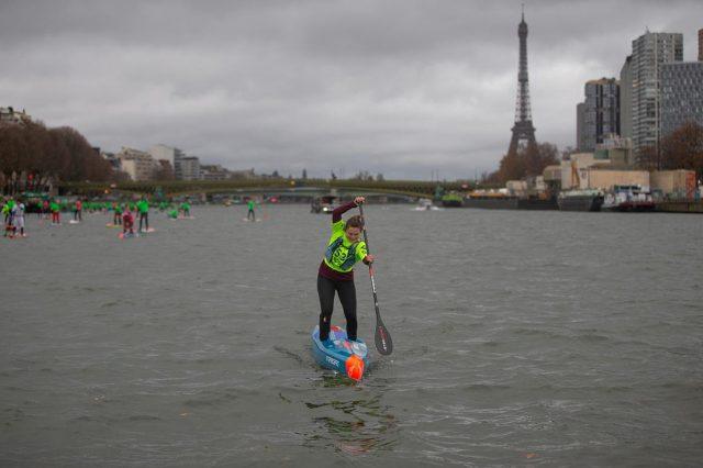 Fiona en el  Paris SUP Open 2019