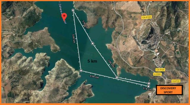 Mapa Amateur. GluGlu Race