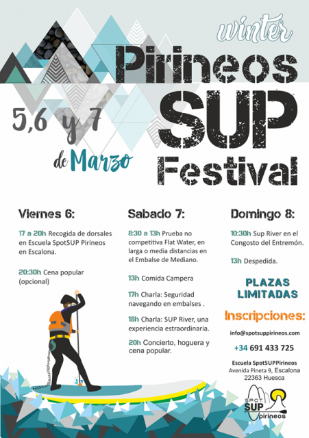 Cartel del Pirineos SUP Festival