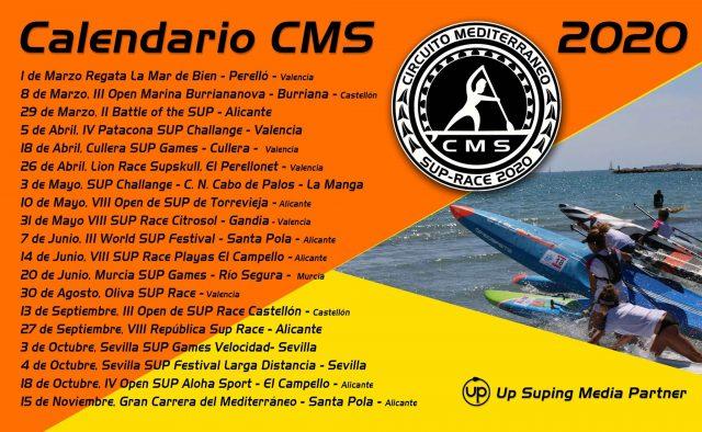 Calendario CMS2020. Castellón