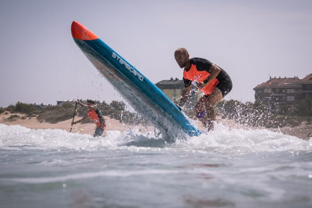 Stand Up Paddle Beach Race