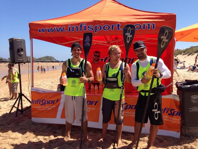Competidores de SUP cuidando su Nutrición Deportiva