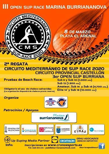 Cartel CMS y Circuito Provincial en Castellón