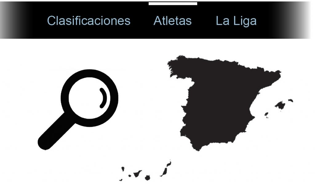 Mapa de España de la Liga Virtual de SUP