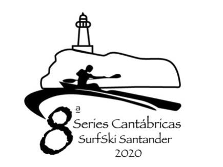 Logo Series Cantábricas Surfski Santander2020